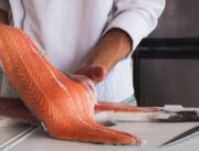 types salmon filleting scaled